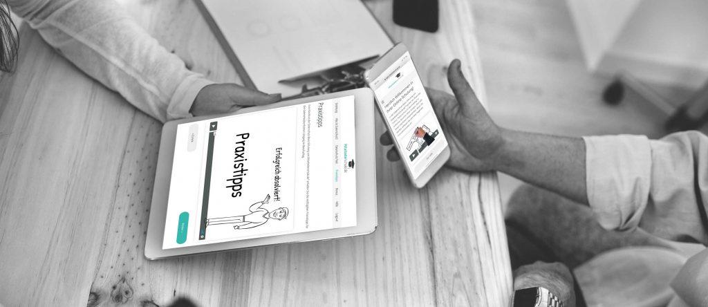 Responsive Webdesign von Mitarbeiterschule.de